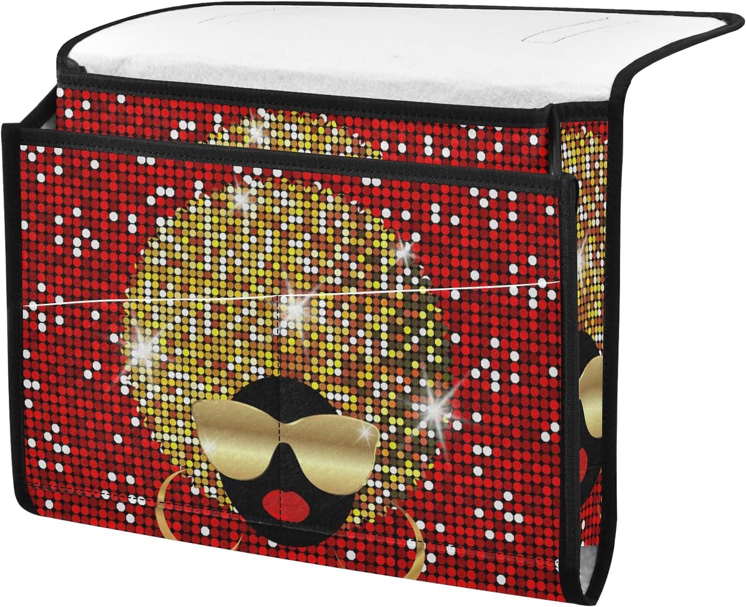 senya Portrait African Women{1} Organizer Bedside Bedsid High Large special price !! material Storage