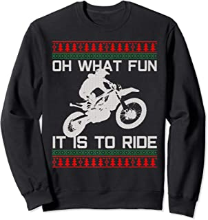 motocross christmas jumper