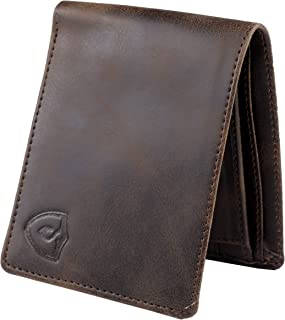 Keviv® Genuine Leather Wallet for Men || Men's Wallet || (Brown)