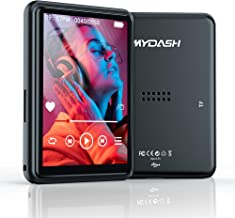 """MP3 Player with Bluetooth, 2.4"""" Full Touchscreen Mp3 Player with Speaker, 16GB Portable HiFi Sound Mp3 Music Player with F... photo"""