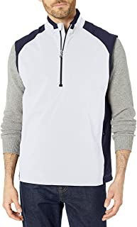 Cutter & Buck Men's Cb Weathertec Summit Half-Zip Vest