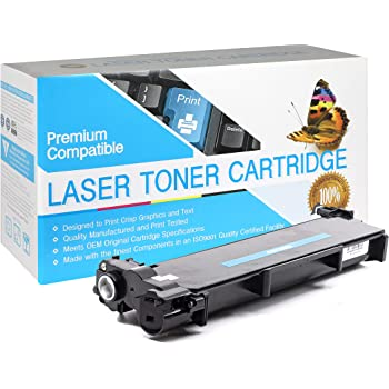 Black,2 Pack TN660 USA Advantage Compatible Toner Cartridge Replacement for Brother TN630 TN-660