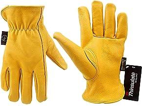 KIM YUAN Warme werkhandschoenen, 3M Thinsulate voering, perfect voor tuinieren, snijden, bouw, motorfiets, mannen en vrouwen