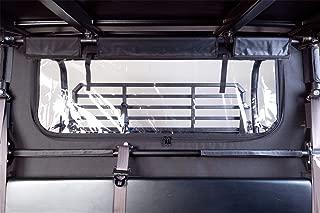 Seizmik Rear Soft Dust and Window Panel for Kawasaki 2015-2018 Mule Pro FX/FXT Models 04028