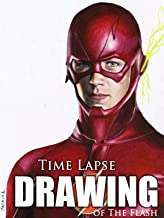 Clip: Time Lapse Drawing of The Flash