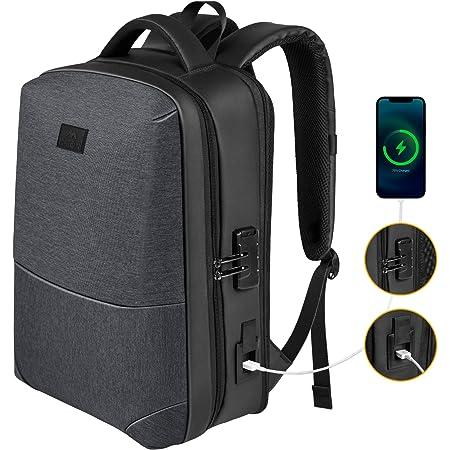 Tengu Japanese God Backpack Daypack Rucksack Laptop Shoulder Bag with USB Charging Port