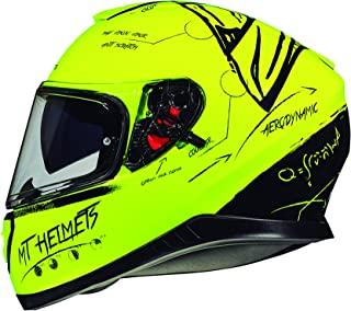 CASCO MT THUNDER 3 SV ON BOARD AMARILLO FLUOR (S