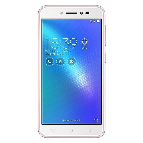 Asus Zenfone Live ZB501KL Smartphone portable débloqué 4G (Ecran: 5 pouces - 16 Go - Double Nano-SIM - Android) Rose