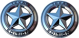 Muzzys (Set of TWO) Texas Edition Star CHROME and Black Round 3