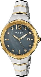 Akribos XXIV Casual Watch Analog Display for Women AK932TTGB