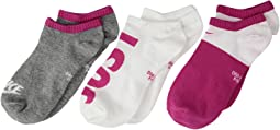 Nike Kids - Performance Lightweight Low Training Socks 3-Pair Pack (Little Kid/Big Kid)
