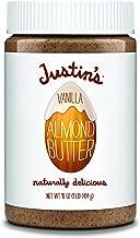 Justin's Vanilla Almond Butter, No Stir, Gluten-free, Responsibly Sourced, 16oz Jar