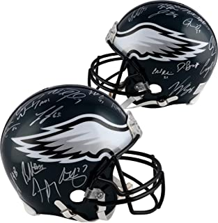 Philadelphia Eagles Super Bowl LII Champions Autographed Riddell Pro-Line Helmet with Multiple Signatures - Fanatics Authentic Certified