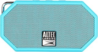 Altec Lansing IMW258 Mini H2O 3 Portable Bluetooth Waterproof Speaker (Aqua)