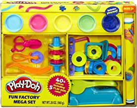 Play-Doh Over 40-Piece Fun Factory Pretend Play For Boys and Girls Mega Set
