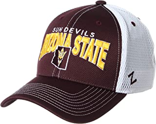 NCAA Arizona State Sun Devils Mens Richmond Performance Hat, Primary Team Color/White, X-Large
