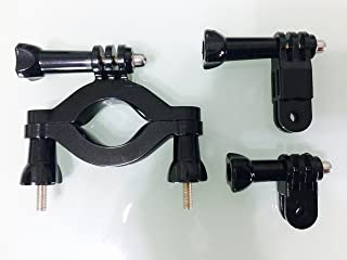 Roll Bar Mount compatible with GoPro cameras & 3-Way Pivot Arm