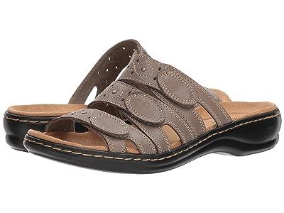 Clarks Leisa Cacti Q (Sage Leather) Women