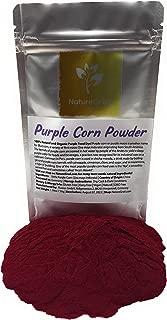 Purple Corn Powder - 100% Natural And Organic Purple Food Dye (Kosher, Halal Purple Maize) - Ingredients: 100% Purple Corn (Zea Mays Indurata) - Water-soluble - Net Weight: 1.76oz / 50g
