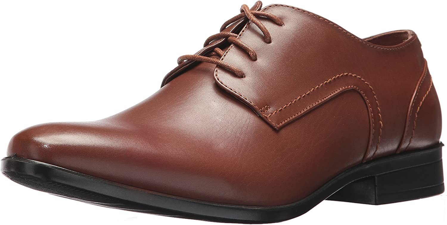 Deer Stags Men's Shipley Oxford, Dark Brown