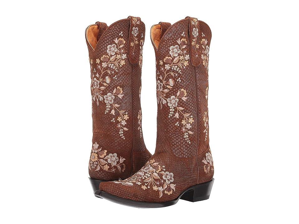 Old Gringo Samira (Golden Suede) Cowboy Boots