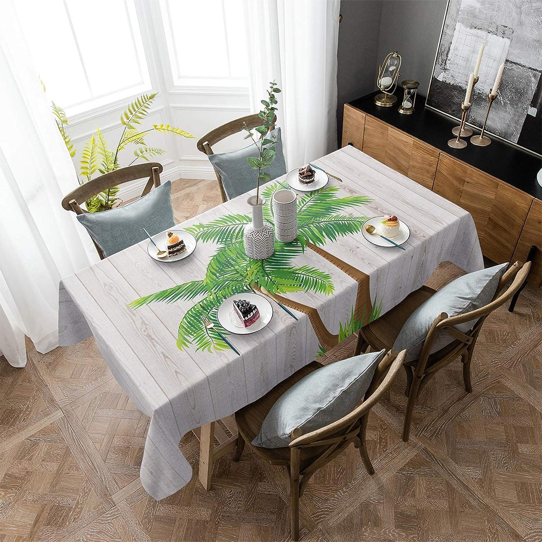 ARTSHOWING Summer Rectangular Tablecloth Tab 25% OFF Topics on TV Washable 60x90inch