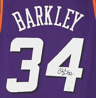 Charles Barkley Phoenix Suns Signed Autographed Purple  34 Custom Jersey  PAAS COA 2769872e4