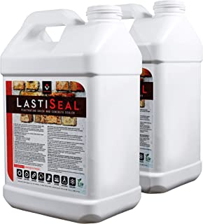 LastiSeal Brick & Concrete Sealer (5-gal) | All Purpose Sealer for Brick, Concrete, Pavers, Porous Masonry | 15-Year Waterproofing Warranty