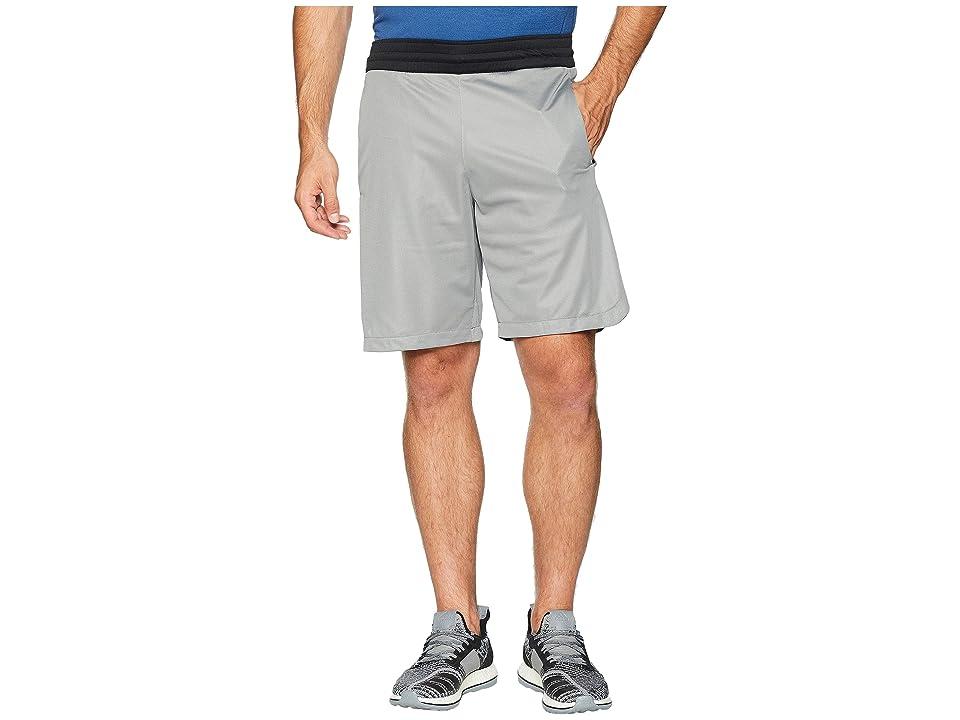 adidas Accelerate 3-Stripes Shorts (Grey Three/Black) Men's Shorts