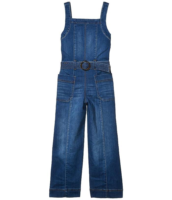 60s 70s Kids Costumes & Clothing Girls & Boys HABITUAL girl Abella Jumpsuit Big Kids Dark Stone Girls Jumpsuit  Rompers One Piece $57.60 AT vintagedancer.com