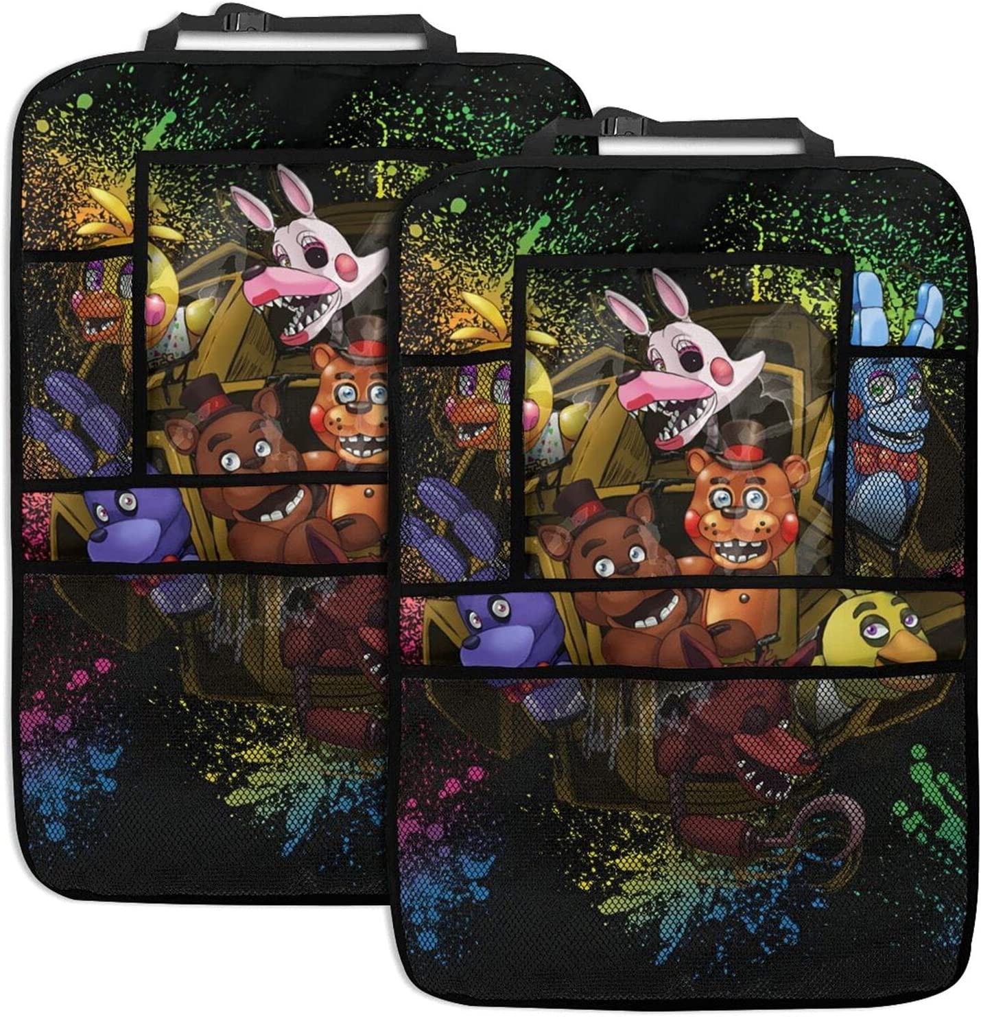 Five Nights At Freddy's Car Organizer Pack 2 New popularity lowest price Seat