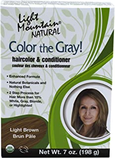 Light Mountain Natural 2 Piece Natural Color The Gray!, Light Brown