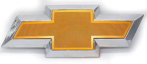 Front Grille Black or Gold & Chrome Bowtie Emblem Compatible with Chevrolet Express Van 1500 2500 3500 (Gold)