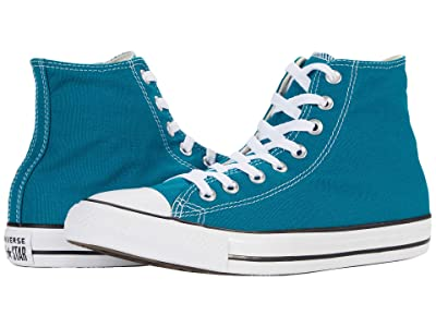 Converse Chuck Taylor All Star Seasonal Color Hi (Bright Spruce) Lace up casual Shoes