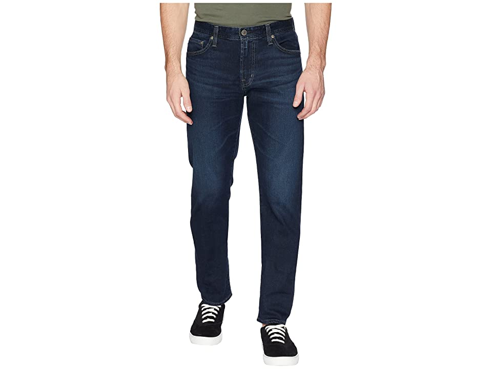 AG Adriano Goldschmied Everett Slim Straight Leg Denim in Shadow Mountain (Shadow Mountain) Men's Jeans