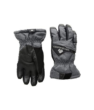 Obermeyer Kids Lava Gloves (Little Kids/Big Kids) (Ebony) Extreme Cold Weather Gloves