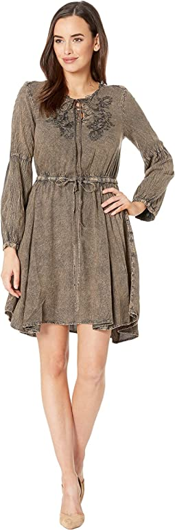 Lesley Acid Wash Dress