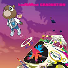 Sulili Kanye West Graduation Poster Art Print Wall Posters Size 20x20 Inches