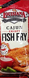 Louisiana Fish Fry Cajun - 3 Bags of 10 Oounces