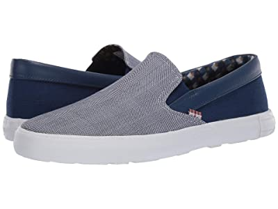 Ben Sherman Pete Slip-On (Blue Cotton) Men