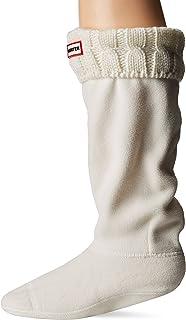 comprar comparacion Calcetines Hunter, altos, originales, térmicos, para botas, unisex, adultos, 15 cm Blanco Blanco Natural Medium