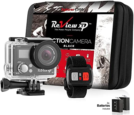 Review XP C300 Action Camera 4K 16MP Ultra HD Sports...