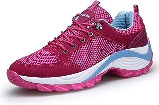 DAFENP Zapatillas Deportivas de Mujer Running Trail Gym