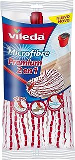 Vileda Microfibras Premium 2 En 1 Recambio para Fregona,