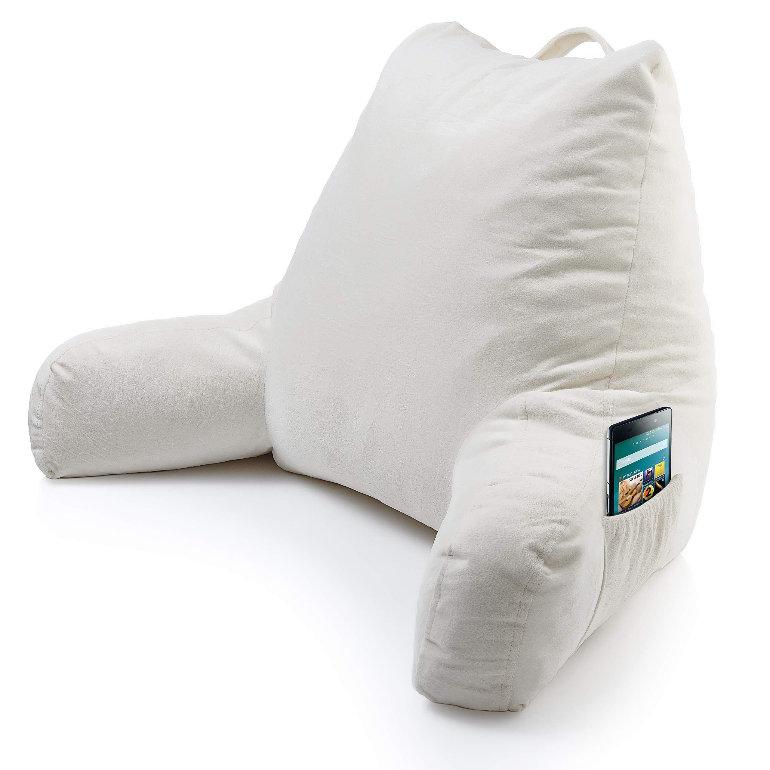 Foam Reading Pillow Arm Pocket