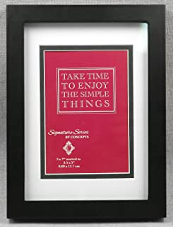 Concepts Black Wood Picture Frame 5