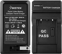 Insten AC/DC Replacement Battery Charger Compatible with Fuji NP-45 /FinePix Z100FD /Z10FD /Z200FD /Z20fd /Z30 /Z300 /Z33 /Z33WP /Z37 /Z70 /Z700EXR SLR Camera/Olympus Stylus 7010 1050 850 790 SW