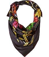 Versace - Flower & Chain Silk Scarf