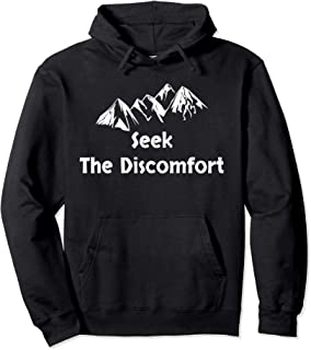Seek The Discomfort Hoodie | step out of your comfort
