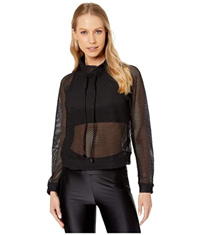 Koral Pump Open Mesh Pullover (Black) Women
